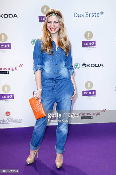 Susan Sideropoulos attends the Echo Award 2015 on March 26 2015 in Berlin Germany