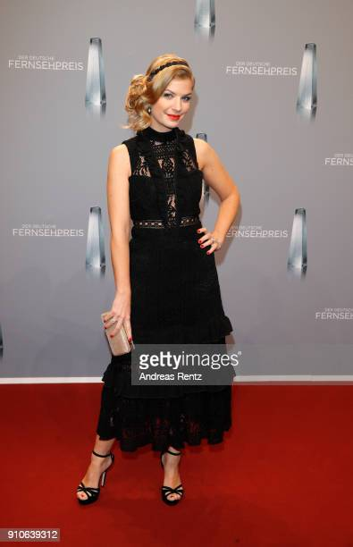 Susan Sideropoulos attends the German Television Award at Palladium on January 26 2018 in Cologne Germany