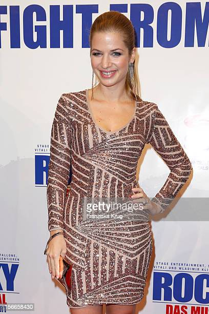 Susan Sideropoulos attends the ROCKY Musical Gala Premiere at TUI Operettenhaus on November 18 2012 in Hamburg Germany