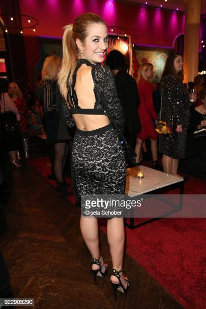 Susan Sideropoulos during the BUNTE BMW Festival Night 2018 on the occasion of the 68th Berlinale International Film Festival Berlin at Restaurant...