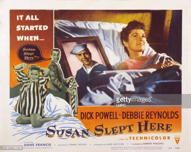 Debbie Reynolds Dick Powell inset Dick Powell Debbie Reynolds 1954