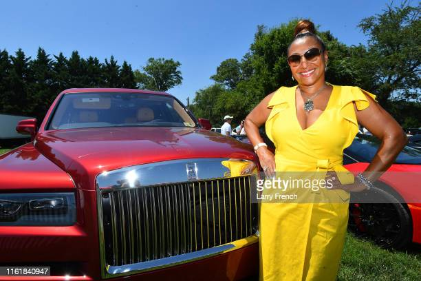 Susan Smallwood and Strategic partners Sterling Motorcars luxury automotive are seen at Grandiosity Events CigarsGuitars Charity PoloJazz charity...
