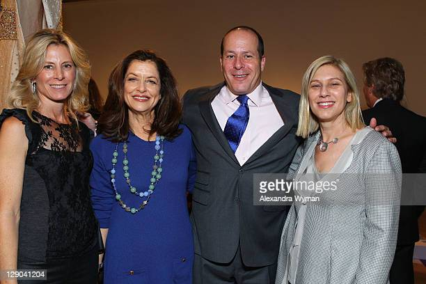 Susan Smidt, Debra Black, Marc Porter and Wendy Kaplan at Ladies' Luncheon hosted by Debra Black to Preview The Elizabeth Taylor Collection from...