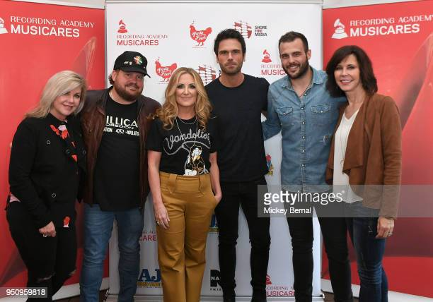 Susan Stewart Recording artist Randy Rogers Lee Ann Womack Artist/Host of Nash FM's 'Ty Kelly and Chuck' Chuck Wicks Jackie Lee and MusiCares Debbie...