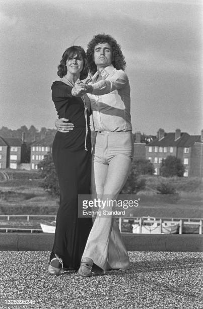 Susan Stranks and Mick Robertson, presenters of the British children's television show 'Magpie', UK, 3rd October 1974.