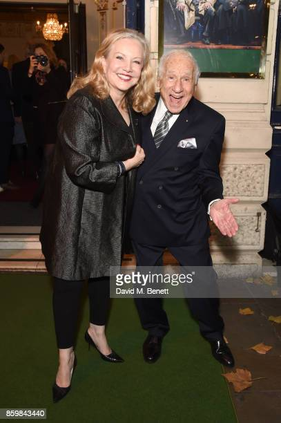 Mel Brooks Young Frankenstein The Musical Press Night Vip Arrivals
