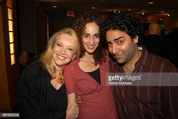 Susan Stroman Nina Goldman and Jason Antoon attend 6th Annual Elan Awards Honoring award winning choreographer Susan Stroman at Half Auditorium on...