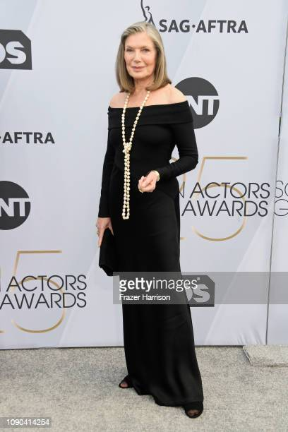 Susan Sullivan attends the 25th Annual Screen ActorsGuild Awards at The Shrine Auditorium on January 27 2019 in Los Angeles California