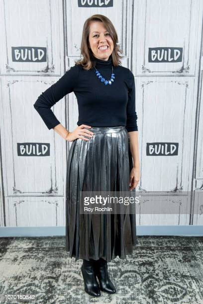 Susan Tercero discusses the MACY'S Thanksgiving parade at Build Studio on November 20 2018 in New York City