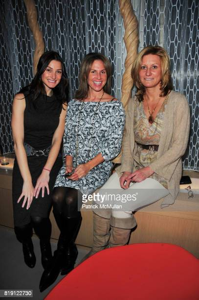 Susan Tombach Julia Sutton and Ann Beth Eschbach attend the Grand Opening Bash of EXHALE at MANHATTAN HOUSE at Manhattan House on March 9 2010 in New...