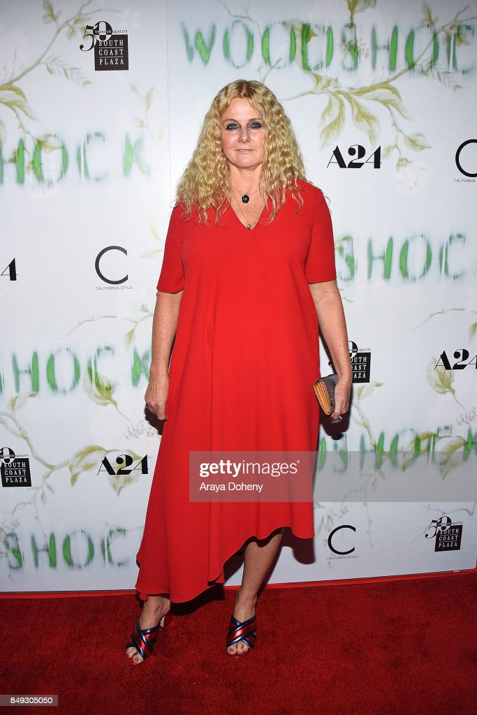 Susan Traylor attends the premiere of A24's 'Woodshock' the at ArcLight Cinemas on September 18, 2017 in Hollywood, California.