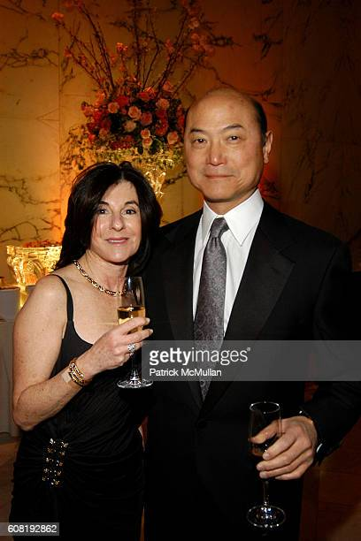 Susan Tsao and Preston Tsao attend STEVEN ANGELA KUMBLE'S Wedding Celebration at Metropolitan Club on April 13 2007 in New York City
