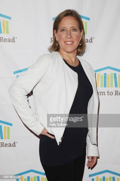 Susan Wojcicki attends Room To Read 2018 International Day Of The Girl Benefit at One Kearny Club on October 11 2018 in San Francisco California