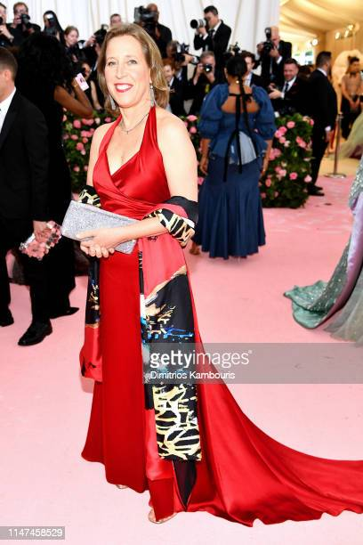 Susan Wojcicki attends The 2019 Met Gala Celebrating Camp Notes on Fashion at Metropolitan Museum of Art on May 06 2019 in New York City