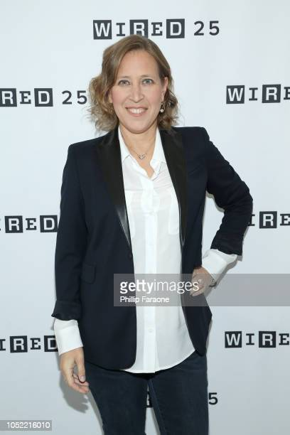 Susan Wojcicki attends WIRED25 Summit: WIRED Celebrates 25th Anniversary With Tech Icons Of The Past & Future on October 15, 2018 in San Francisco,...