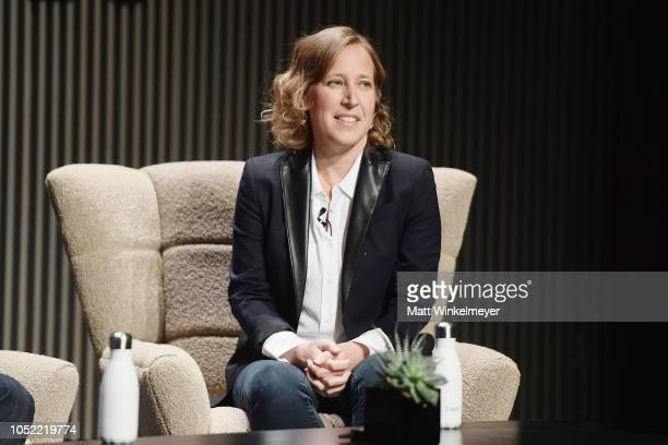 Susan Wojcicki speaks onstage at WIRED25 Summit: WIRED Celebrates 25th Anniversary With Tech Icons Of The Past & Future on October 15, 2018 in San...