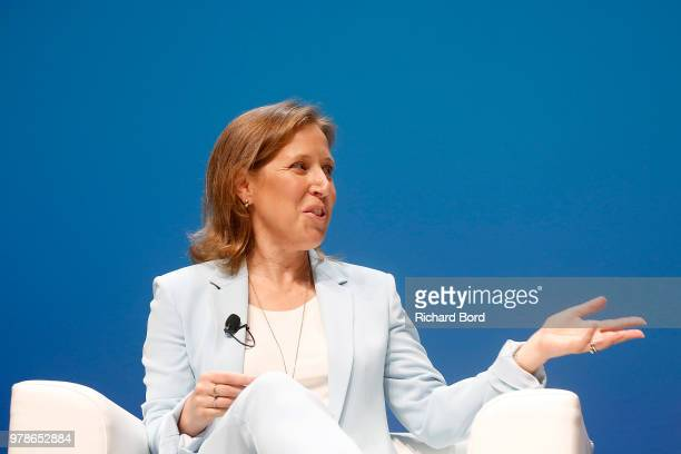 Susan Wojcicki speaks onstage during the Youtube session at the Cannes Lions Festival 2018 on June 19, 2018 in Cannes, France.