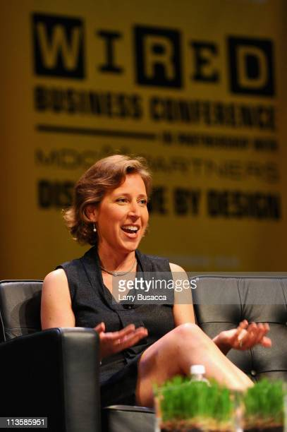 Susan Wojcicki, SVP, Advertising, Google attends the WIRED Business Conference Disruptive by Design in Partnership with MDC Partners at the Museum of...