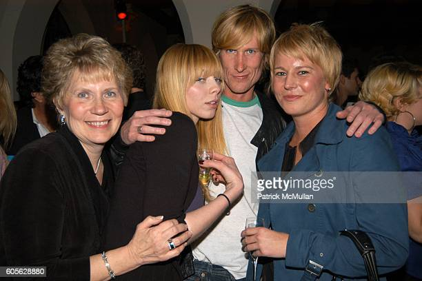 Susan Woodward Alexi Wasser Scott Woodward and attend ETRO and PERRIER JOUET Celebrate Patrick McMullan's Book KISS KISS at Chateau Marmont on...