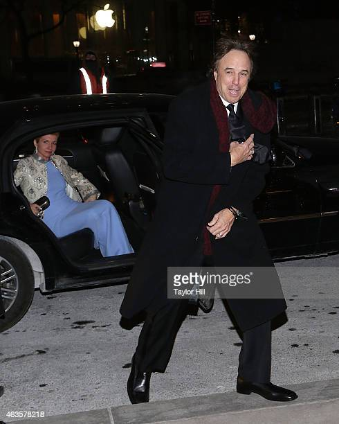 Susan Yeagley and Kevin Nealon attend the Saturday Night Live 40th Anniversary Celebration After Party at The Plaza Hotel on February 15 2015 in New...