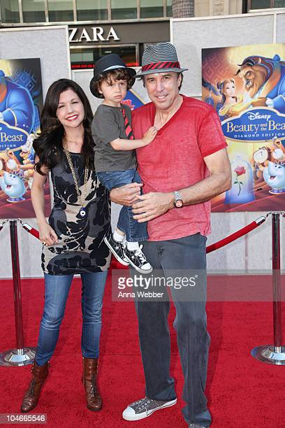 Susan Yeagley Gable Ness Nealon and actor Kevin Nealon arrive at the Walt Disney Studios Home Entertainment Hosts A SingALong Premiere Of Beauty And...
