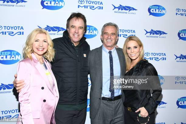 Susan Yeagley Kevin Nealon Robert F Kennedy Jr and Cheryl Hines at 5th Annual Keep It Clean Live Comedy Benefit For Waterkeeper Alliance at Largo At...