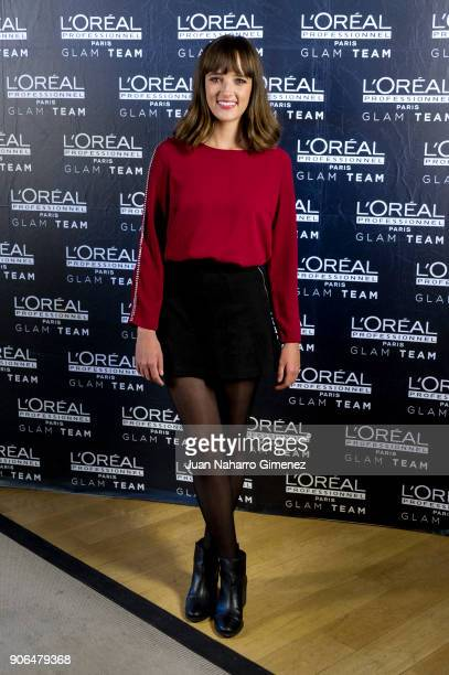 Susana Abaitua attends candidates of Feroz Awards L'Oreal Professionel presentation at Pons Foundartion on January 18 2018 in Madrid Spain
