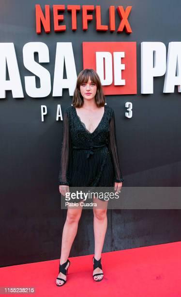 Susana Abaitua attends the red carpet of 'La Casa De Papel' 3rd Season by Netflix on July 11 2019 in Madrid Spain