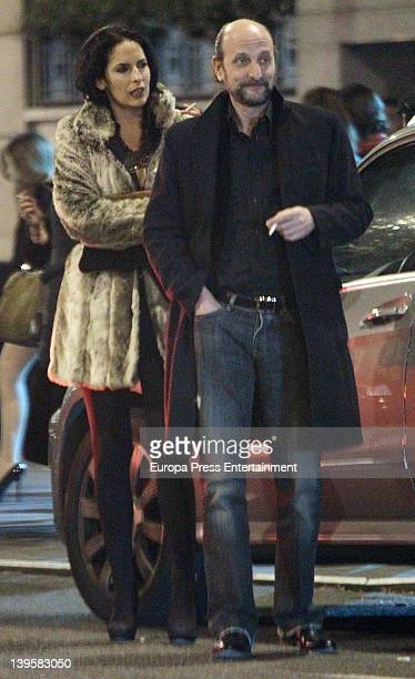 Susana Aunion and Jose Miguel FernandezSastron on February 21 2012 in Madrid Spain