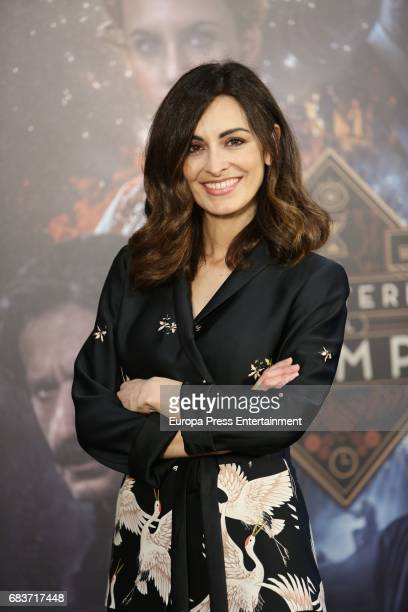 Susana Cordoba attends 'El Ministerio del Tiempo' Third Seasson photocall at Radiotelevision Espanola on May 12 2017 in Madrid Spain