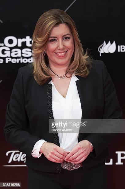 Susana Diaz attends 'Ortega Y Gasset' journalism awards 2016 at Palacio de Cibeles on May 05 2016 in Madrid Spain