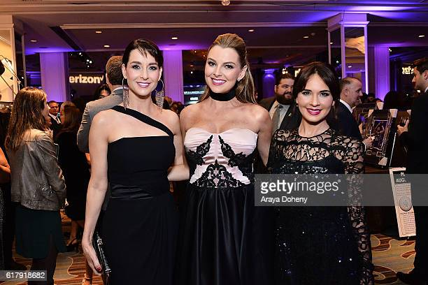 Susana Gonzalez Marjorie de Sousa and Adriana Louvier attend the The Paley Center for Media's Hollywood Tribute to Hispanic Achievements in...