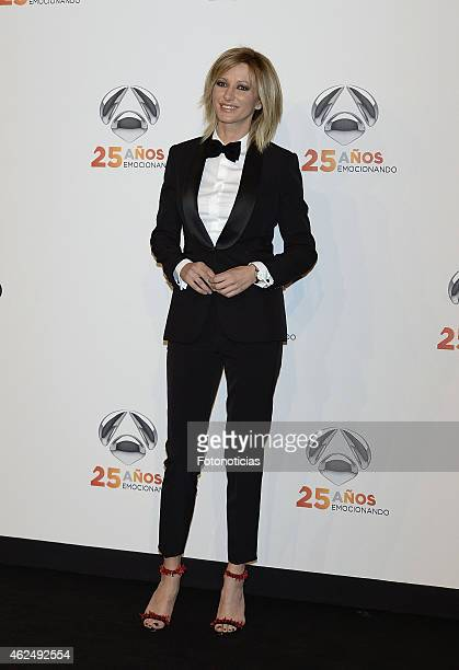 Susana Griso attends 'Antena 3' 25th Anniversary Reception at the Palacio de Cibeles on January 29 2015 in Madrid Spain