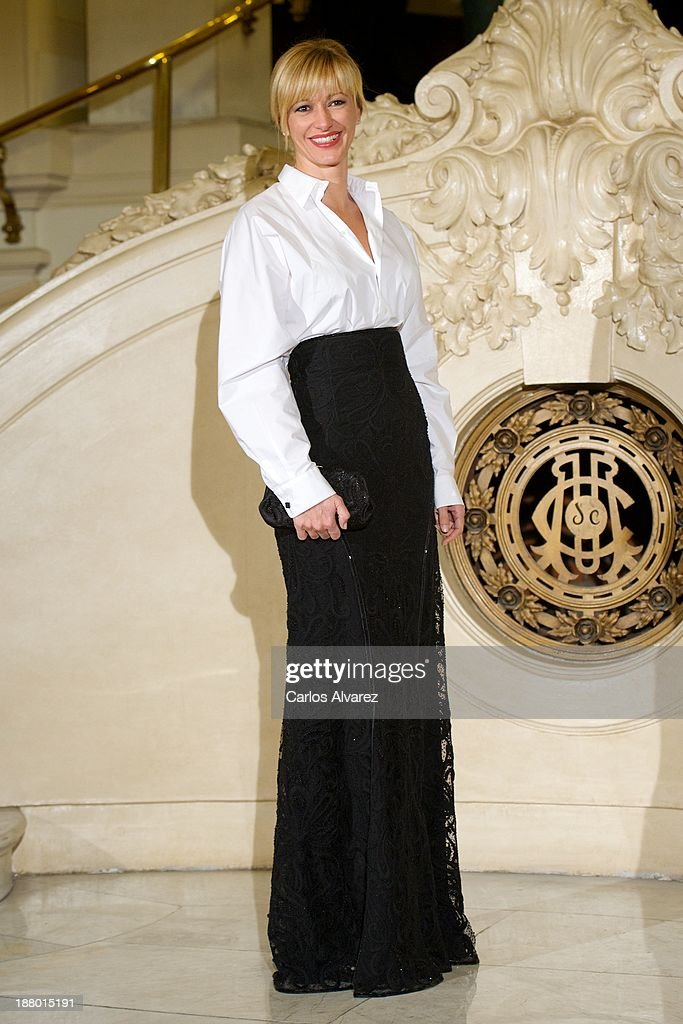 Susana Griso attends the Ralph Lauren Dinner Charity Gala at the Casino de Madrid in on November 14, 2013 in Madrid, Spain.