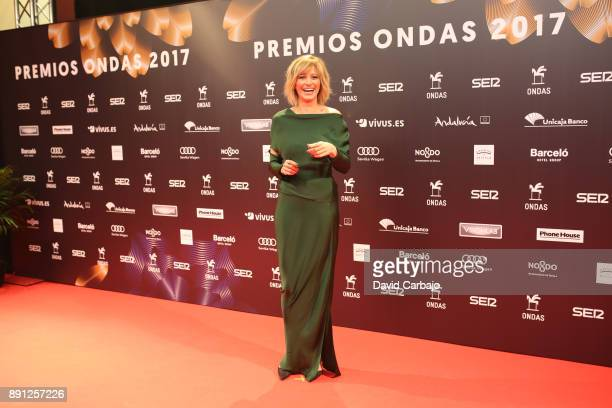 Susana Griso attendss the 63th Ondas Gala Awards 2016 at the FIBES on December 12 2017 in Seville Spain