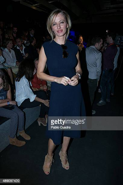 Susana Griso is seen attending MercedesBenz Fashion Week Madrid Spring/Summer 2016 at Ifema on September 19 2015 in Madrid Spain