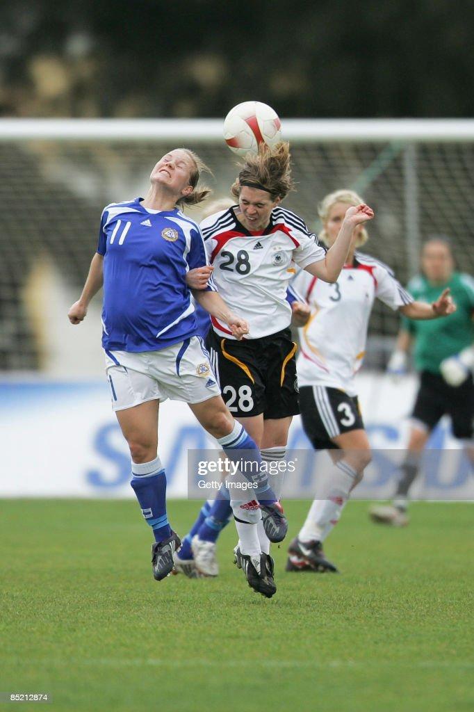 Germany v Finland - Women Algarve Cup : ニュース写真