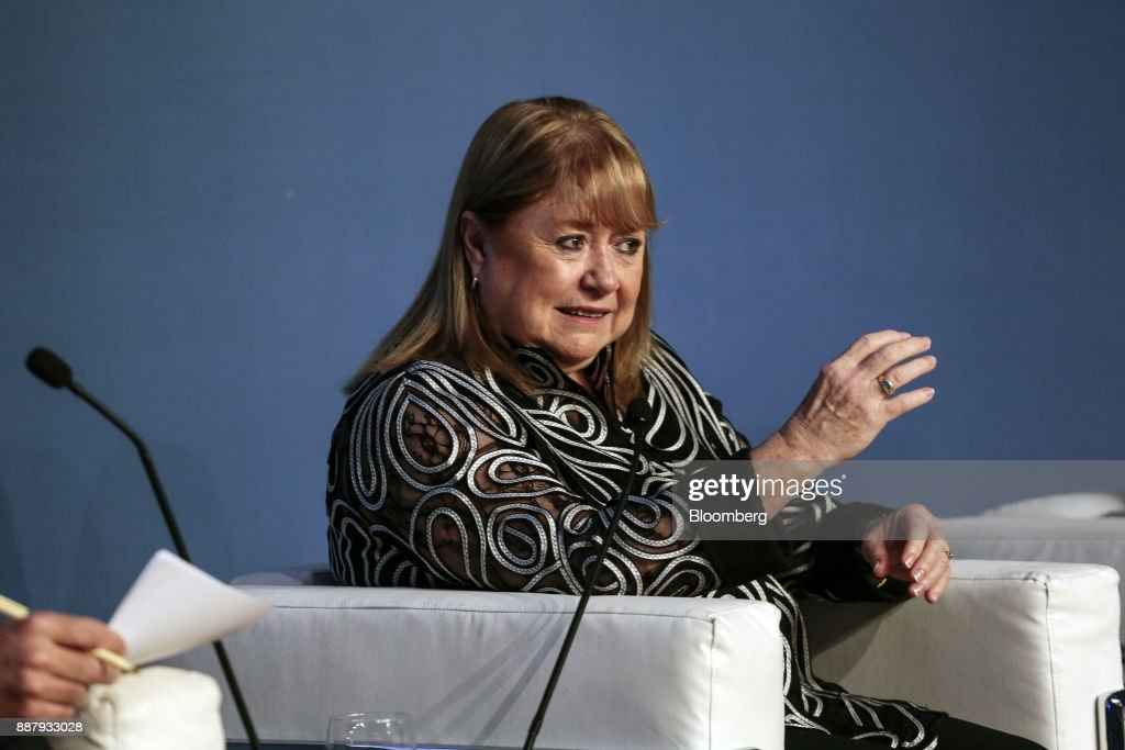 Susana Malcorra, Argentina's former foreign affairs minister, speaks during an Atlantic Council event in Buenos Aires, Argentina, on Thursday, Dec. 7, 2017. The event will focus on Argentina's economic and political transformations and it's future for further investment and broad-based growth. Photographer: Sarah Pabst/Bloomberg via Getty Images