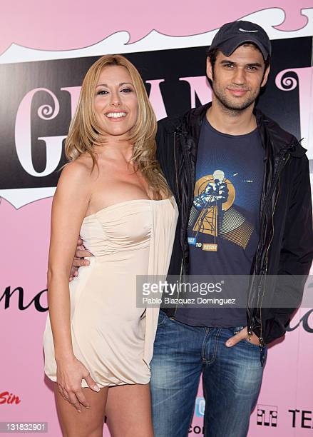 Susana Reche and Iker Lastra attend 'La Gran Depresion' premiere at Infanta Isabel Theatre on May 19, 2011 in Madrid, Spain.