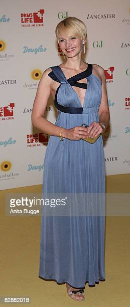 Susann Atwell attends the Dreamball 2008 charity gala in the Martin-Gropius Building on September 18, 2008 in Berlin, Germany.
