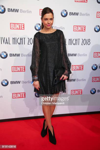 Susann Hoecker attends the BUNTE BMW Festival Night on the occasion of the 68th Berlinale International Film Festival Berlin at Restaurant...