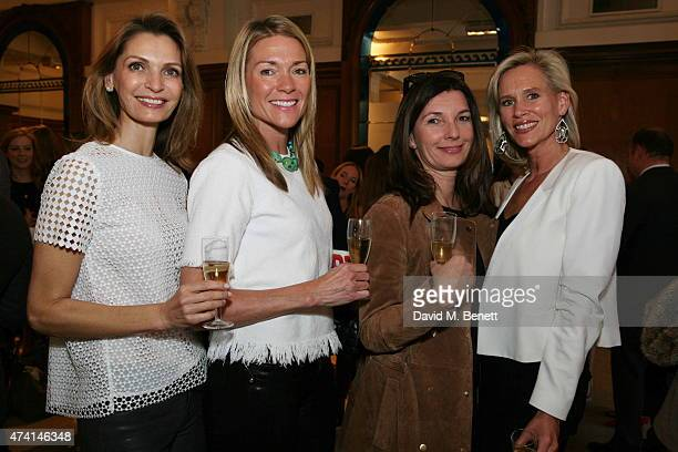 Susanna Abu Zalaf Stephanie Capuano Antje Kiewell and Tia Graham attend the Art15 Preview Night Freedom Audit Exhibition at Kensington Olympia on May...