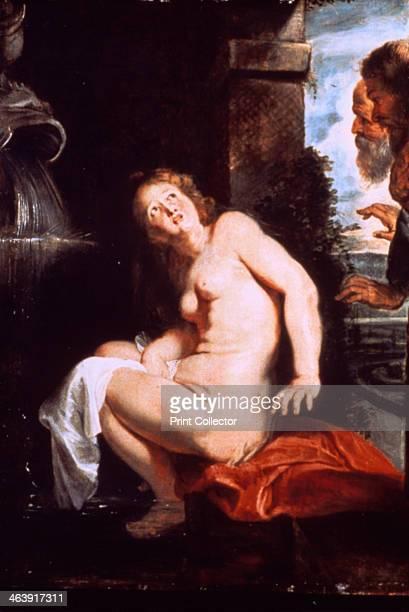'Susanna and the Elders' c1614