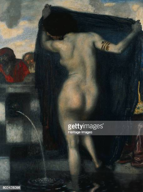 Susanna at her Bath 19031904 Found in the collection of Kunstmuseum St Gallen