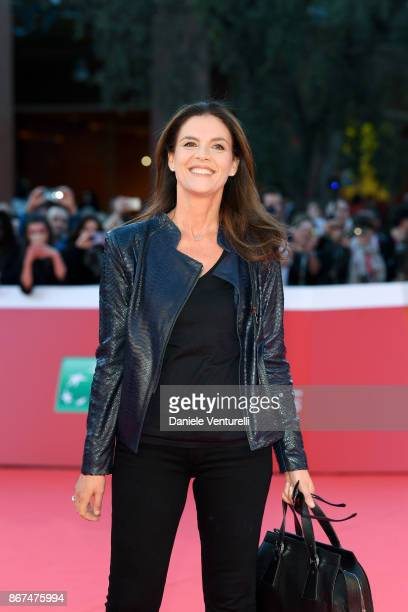 Susanna Biondo walks a red carpet during the 12th Rome Film Fest at Auditorium Parco Della Musica on October 28 2017 in Rome Italy