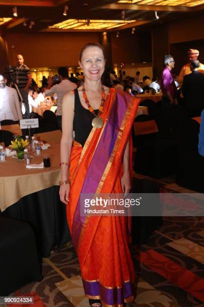 Susanna Bjorklund during the Interior Lifestyle Awards and Exhibitors Night at Soverign Le Meridien on June 27 2018 in New Delhi India