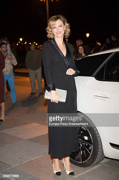 Susanna Griso attends 'Telva Special Cooperation Award' during the 'Telva Beauty' 2014 awards on December 2 2014 in Madrid Spain