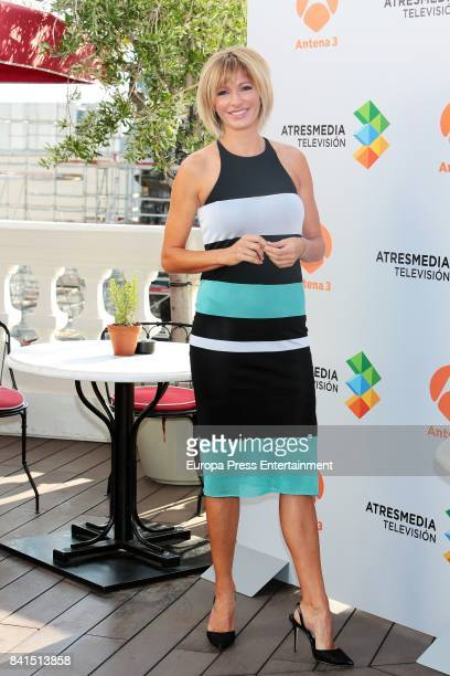 Susanna Griso attends the presentation of new season 'Espejo Publico' tv programme on August 31 2017 in Madrid Spain