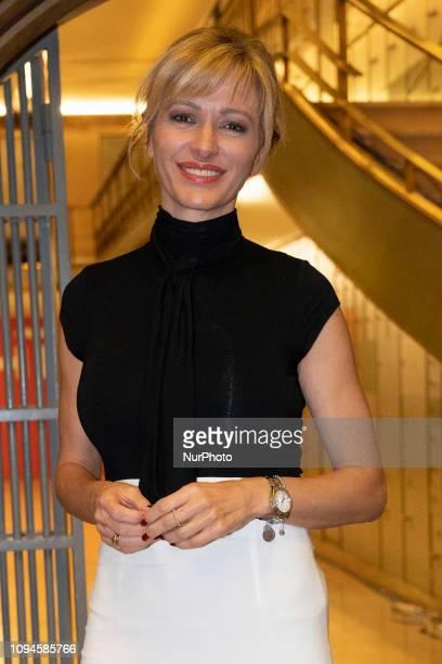 Susanna Griso attends the presentation of the book LUCIA EN LA NOCHE in madrid Spain February 6 2019
