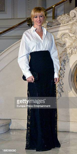 Susanna Griso attends the Ralph Lauren Dinner Charity Gala at Casino Madrid on November 14 2013 in Madrid Spain